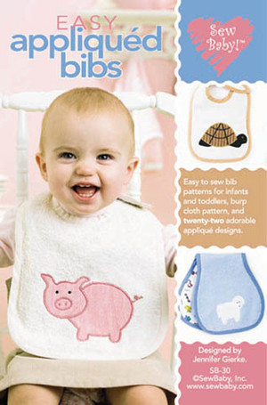 SewBaby! Easy Applique Bibs Pattern