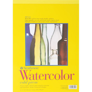 "Strathmore Watercolor Cold Press Paper Pad 11""X15"""