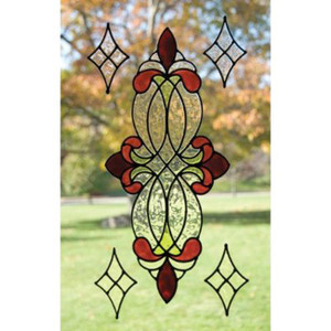 Burgundy Clear Window Film Set