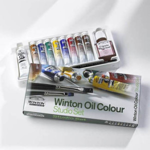 Winton Oil Paint Studio Set