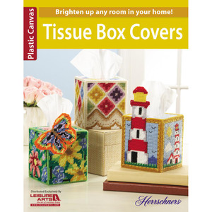 Plastic Canvas Tissue Boxes