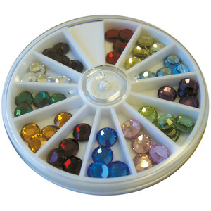 Hot Fix Swarovski 34ss Crystal Compact 32/Pkg