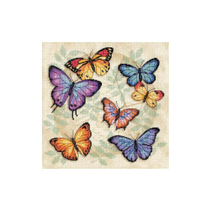 Butterfly Profusion Counted Cross Stitch Kit