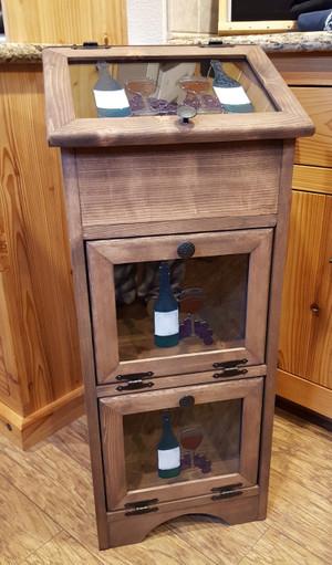 Potato Vegetable Storage Bin - Wine