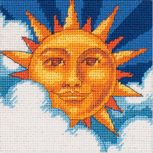 Celestial Sun Needlepoint Kit