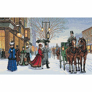 Alan Maley's Gracious Era Counted Cross Stitch Kit