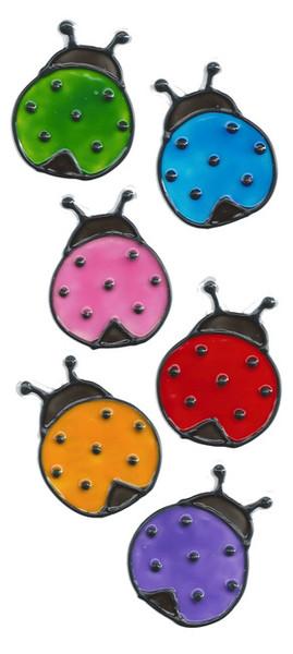 Ladybug Window Cling Set (1)