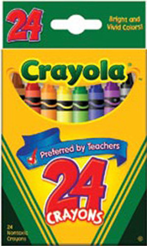 Crayola Crayons 24 Pkg.