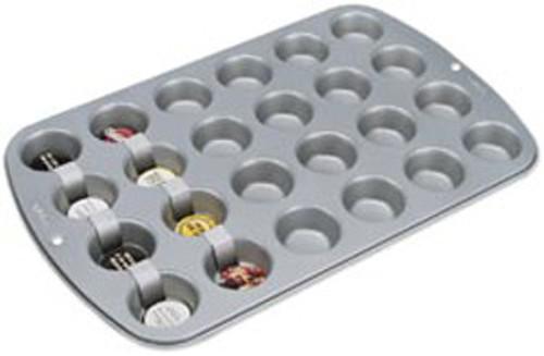 Recipe Right Mini Muffin Pan - 24 Cavity
