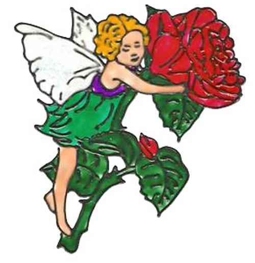 Rose Fairy Window Cling