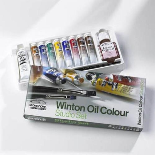 Winton Oil Paint Studio Set