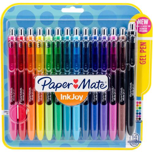 InkJoy Gel Pens .7mm 14/Pkg