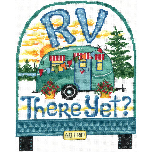 RV There Yet Counted Cross Stitch Kit