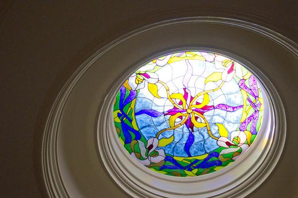 Art Nouveau Ribbons Window Film