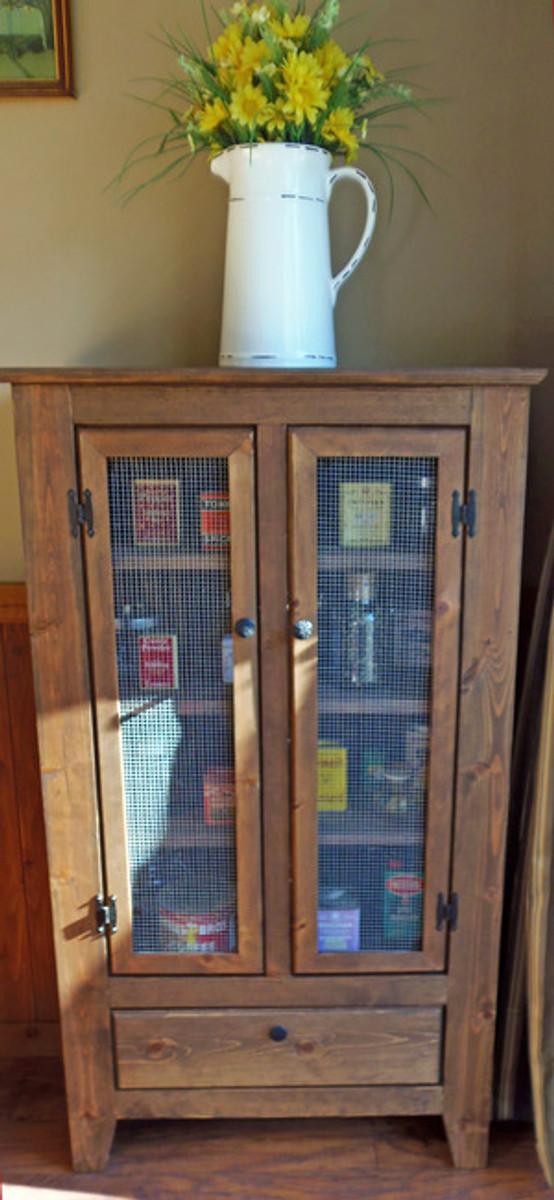 Pie Safe Storage Unit