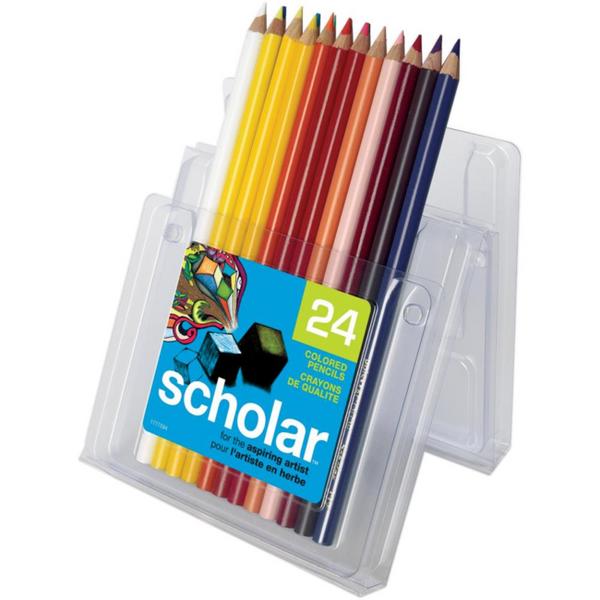 Prismacolor Scholar Colored Pencil Set 24/Pkg