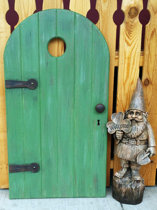 Wooden Fairy / Gnome Door