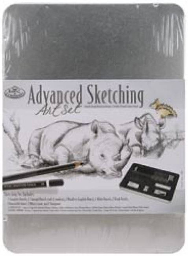 Advanced Sketching Art Kit With Tin