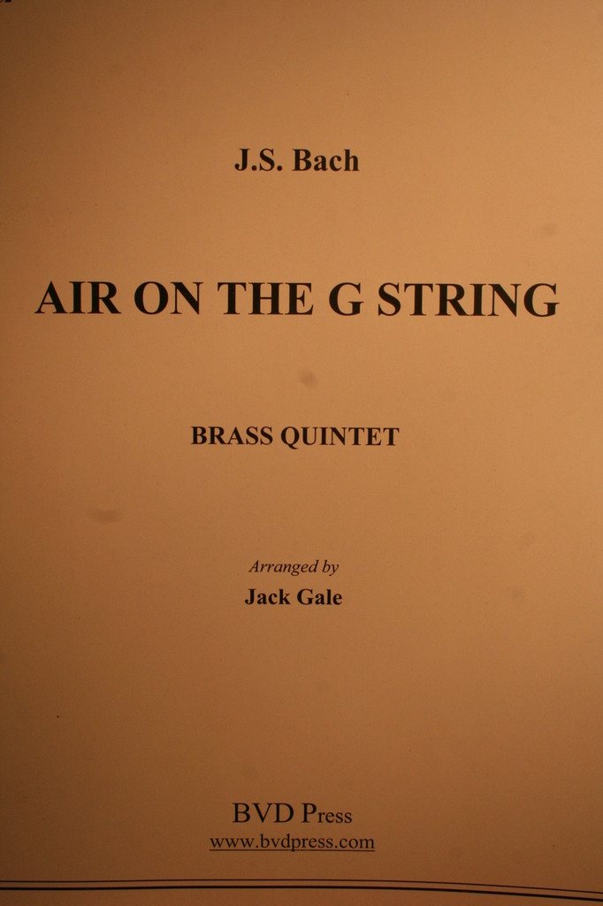 Bach, J.S. - Air On The G String