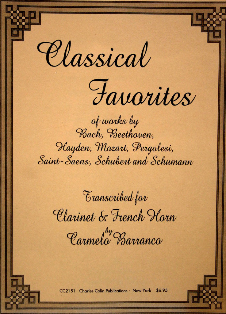 Barranco, Carmelo - Classical Favorites for Clarinet and French Horn