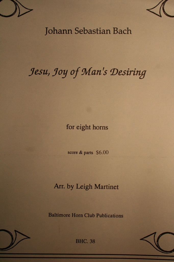 Bach, J.S. - Jesu, Joy of Mans Desiring