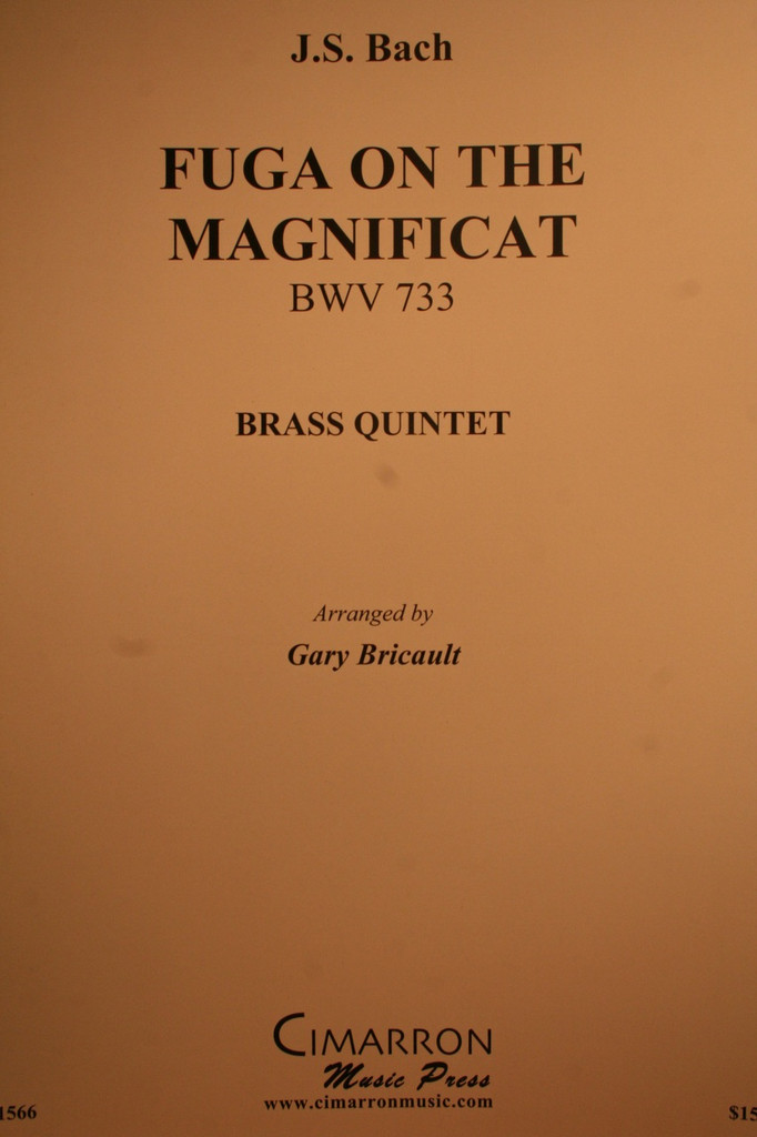 Bach, J.S. - Fuga On The Magnificat, (BWV.733)