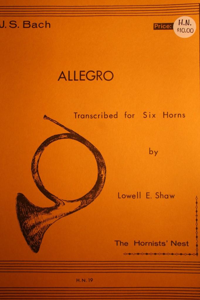 Bach, J.S. - Allegro