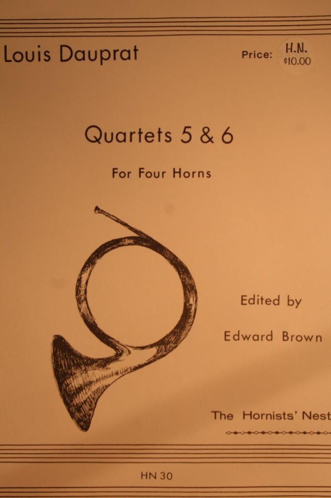 Dauprat, Louis - Quartets No. 5 & No. 6