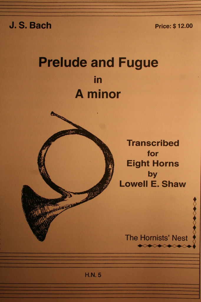 Bach, J.S. - Prelude and Fugue