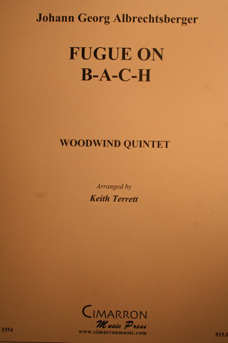 Albrechtsberger, Johann - Fugue On B-A-C-H