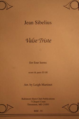 Sibelius, Jean - Valse Triste