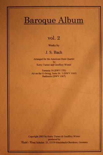 Bach, J.S. - Baroque Album, Vol. 2