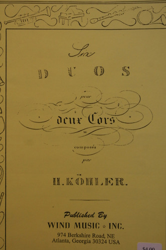 Kohler - Six Duos
