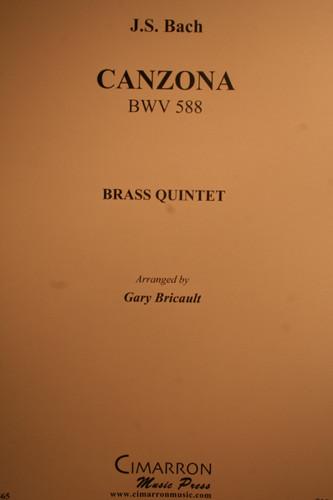 Bach, J.S. - Canzona, (BWV.588)
