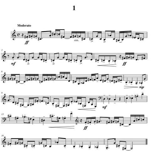Grabois, Daniel - Twenty Difficult Etudes For the Horn's Middle Register
