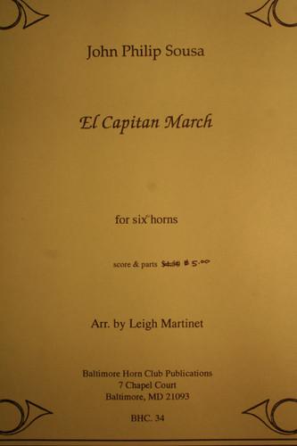 Sousa, J.P. - El Capitan March