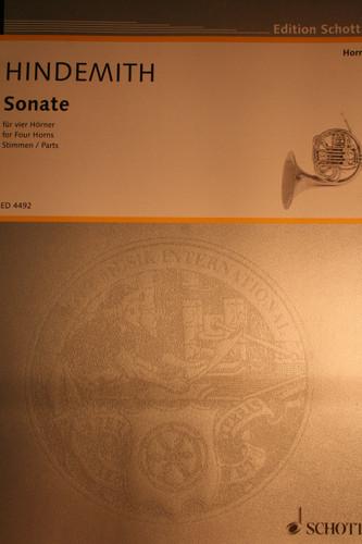 Hindemith - Sonata