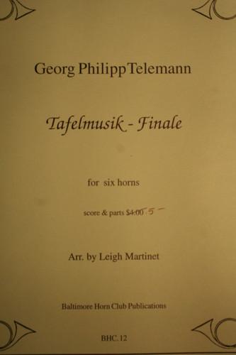 Telemann, G.P. - Tafelmusik Finale