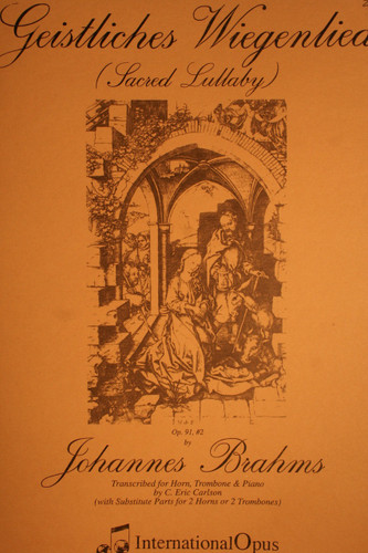 Brahms, Johannes - Sacred Lullaby