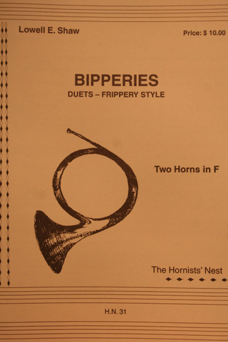 Shaw, Lowell - Bipperies