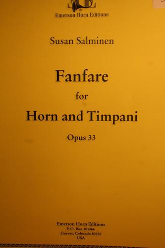 Salminen, Susan - Fanfare For Horn & Timpani, Op. 33