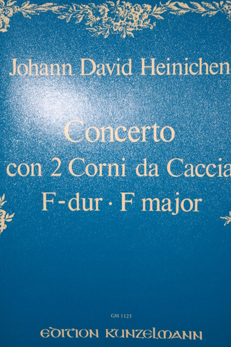 Heinichen, Johann David - Concerto for Two Horns