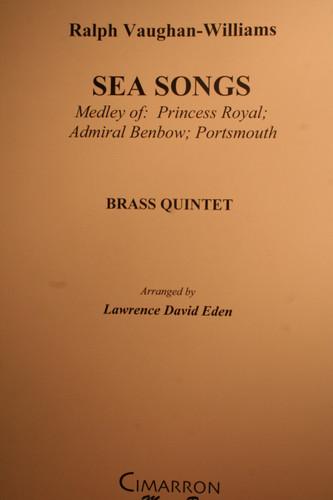 Vaughan-Williams, Ralph - Sea Songs