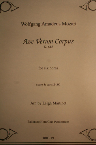Mozart, W.A. - Ave Verum Corpus (K.618)