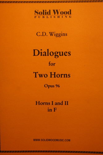 Wiggins, C.D. - Dialogues For 2 Horns, Op. 96