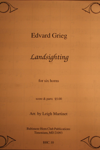 Grieg, Edvard - Landsighting