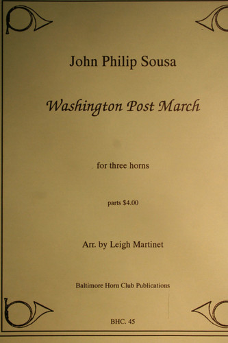 Sousa, John Philip - Washington Post March