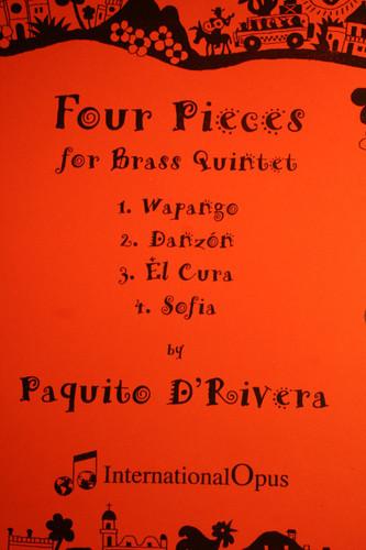 D'Rivera, Paquito - Four Pieces