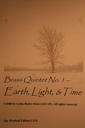 Busler-Blais, Lydia - Brass Quintet No. 1, Earth, Light, & Time