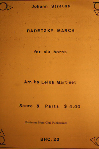 Strauss, Johann - Radetzky March